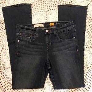 Anthro Pilco highwaist darkwash bootcut jeans